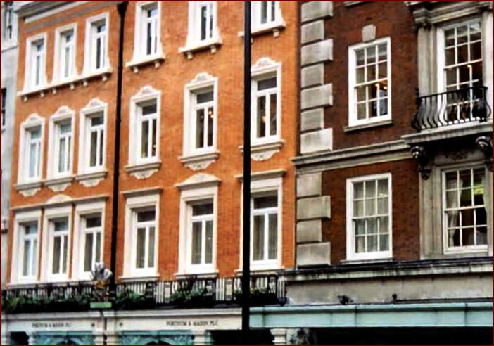 Fortnum & Mason | Elevation showing existing and new elevation | CLICK TO CLOSE