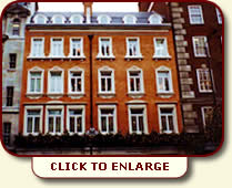 Fortnum & Mason | New Red Rubber gauge brickwork in lime putty mortar | CLICK TO ENLARGE